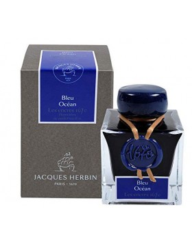 J. HERBIN Ocean Blue 1670 ANNIVERSARY INK (50ML BOTTLED INK)