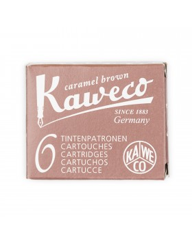 Kaweco Fountain Pen Ink Cartridge Caramel Brown