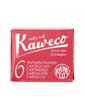 Kaweco Fountain Pen Ink Cartridge Ruby Red