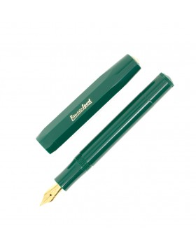 Kaweco Classic Sport Green Fountain Pen (EF Nib)