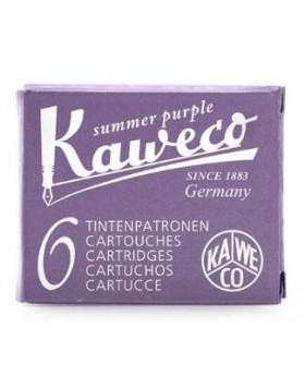 KAWECO FOUNTAIN PEN INK CARTRIDGE SUMMER PURPLE