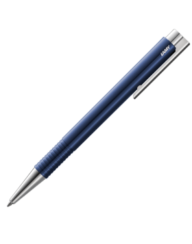 Lamy Logo M+ Blue Ballpoint Pen