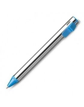 LAMY VIVO Blue Stainless Steel Ballpoint pen