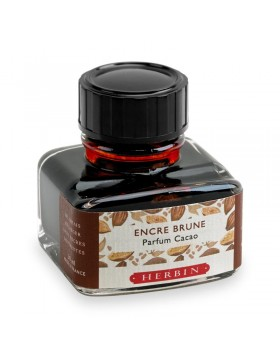 J. HERBIN Les Subtiles (The Subtle) Cocoa Ink Bottle 30ml (Cocoa scented)
