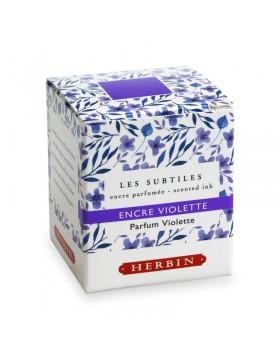 J. HERBIN Les Subtiles (The Subtle) Violet Ink Bottle 30ml (Violet scented)