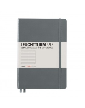 Leuchtturm1917 Notebook A5 Anthracite Line