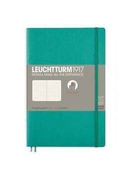 Leuchtturm1917 Notebook Softcover B6 Emerald Dot