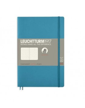 Leuchtturm1917 Notebook Softcover B6 Nordic Blue Dot