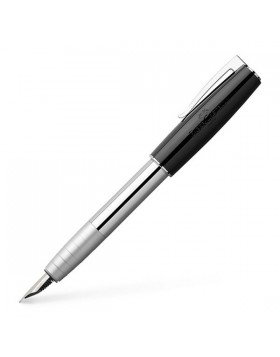 Faber Castell Loom Piano Black 149250 Fountain Pen (M)