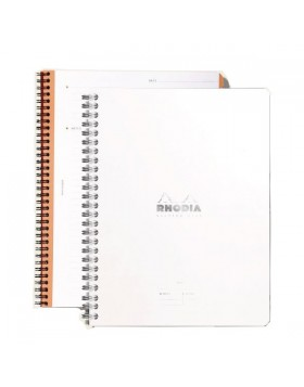 RHODIA Meeting Book Ice White A5