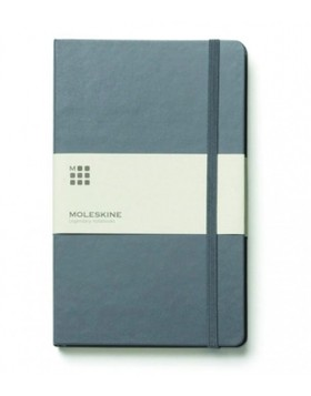 Moleskine Classic Notebook Slate Grey Large - Ruled