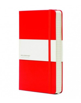 Moleskine Classic Notebook Scarlet Red - Ruled
