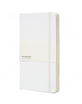 Moleskine Classic Notebook White - Ruled