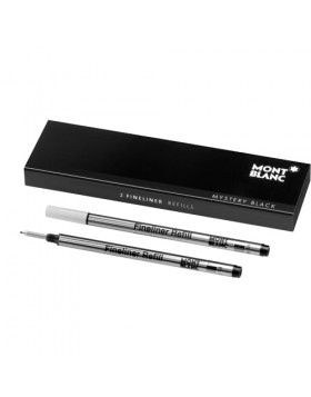 Montblanc 2 Fineliner Refills (Medium) 110149 Mystery Black