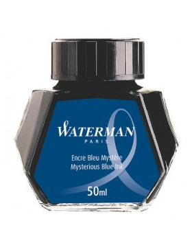 Waterman 50ml Ink Bottle  - Mysterious Blue