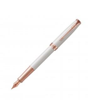 Parker Sonnet Transformation Pearl Pink Gold Trim Fountain Pen (Fine Nib)