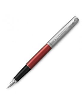 Parker Jotter Kensington Red CT Fountain Pen (F)