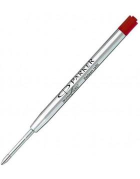 Parker Quinkflow Ballpoint Refill - Red Medium