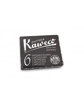 Kaweco Fountain Pen Ink Cartridge Pearl Black