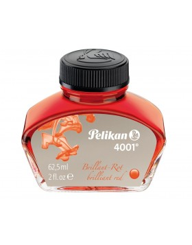 Pelikan 4001 Brilliant Red (62.5 ml Bottle) Fountain Pen Ink