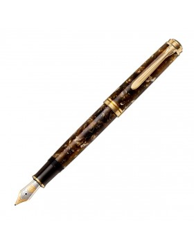 Pelikan M800 Renaissance Brown Special Edition Fountain Pen (F or M nib)