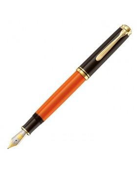 Pelikan Souveran M800 Burnt Orange Fountain Pen
