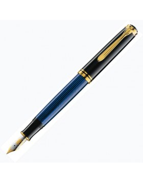 Pelikan Souveran M800 Blue/Black Fountain Pen