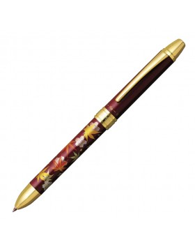 Platinum Maki-E MWB-3000RM#71-7 Shunjuu Red Multi-function Pen