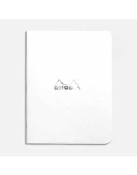 RHODIA White A5 Notebook (Dot Grid)