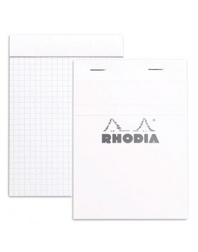 RHODIA Classic Ice White Notepad A6 (Graph)