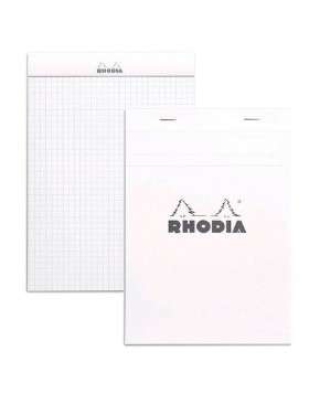 RHODIA Classic Ice White Notepad A5 (Graph)