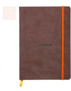 RHODIA Boutique Rhodiarama Soft Chocolate A5 (Lined)