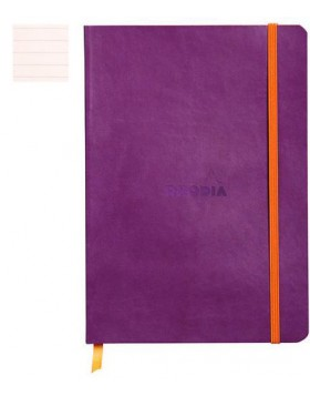 RHODIA Boutique Rhodiarama Soft Purple A5  (Lined)