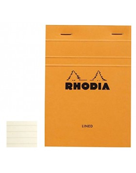 RHODIA Basics Orange Notepad A5 (Lined)