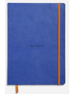 RHODIA Boutique Rhodiarama Soft Cover Sapphire Blue A5 (Dot)