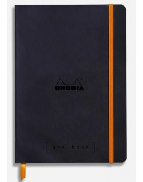 RHODIA Goalbook Soft Cover Black A5 (Dot)
