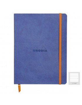 RHODIA Boutique Rhodiarama Soft Cover Sapphire Blue A5 (Lined)