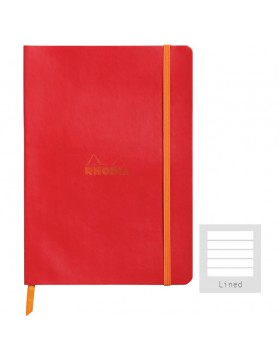 RHODIA Boutique Rhodiarama Soft Poppy A5 (Lined)