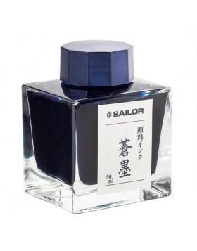Sailor Souboku Pigmented Blue black - 50ml Bottled Ink