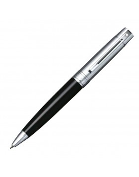Sheaffer 300 Glossy Black, Chrome Cap 9314 Ballpoint