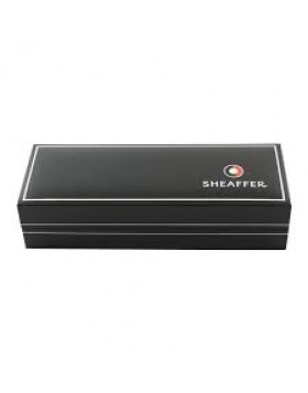 Sheaffer 300 Brushed Chrome Gold tone trim 9327 Ballpoint