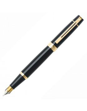 Sheaffer 300 Glossy Black GT Fountain Pen (F / M Nib)