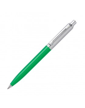 Sheaffer Sentinel Bright Green & Nickel Plate Appointments Ballpoint Pen