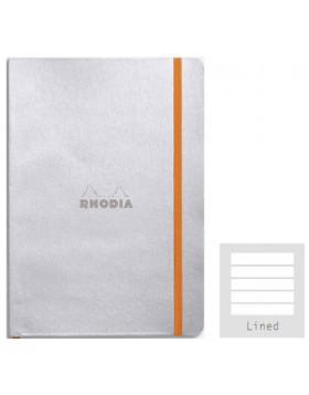 RHODIA Boutique Rhodiarama Softcover Silver A5 (Lined)