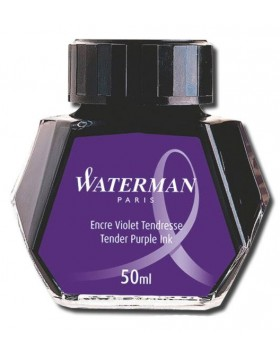 Waterman 50ml Ink Bottle  - Tender Purple