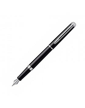 Waterman Hemisphere 10 Black CT Fountain Pen  (F Nib)