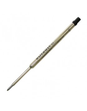 Waterman Black Ballpoint refill Fine