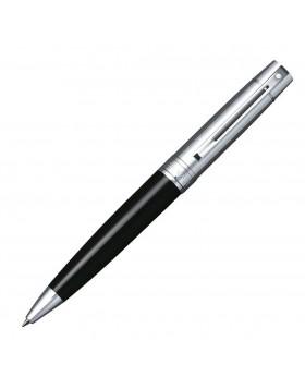 Sheaffer 300 Glossy Black, Chrome Cap 9314 Ballpoint